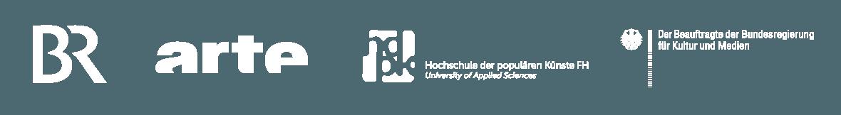 Bayerischer Rundfunk · Arte ·  Hochschule der populären Künste ·  Der Beauftragte der Bundesregierung für Kultur und Medien